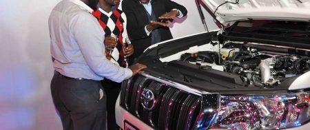 Toyota Kenya unveils Sh13mn Prado